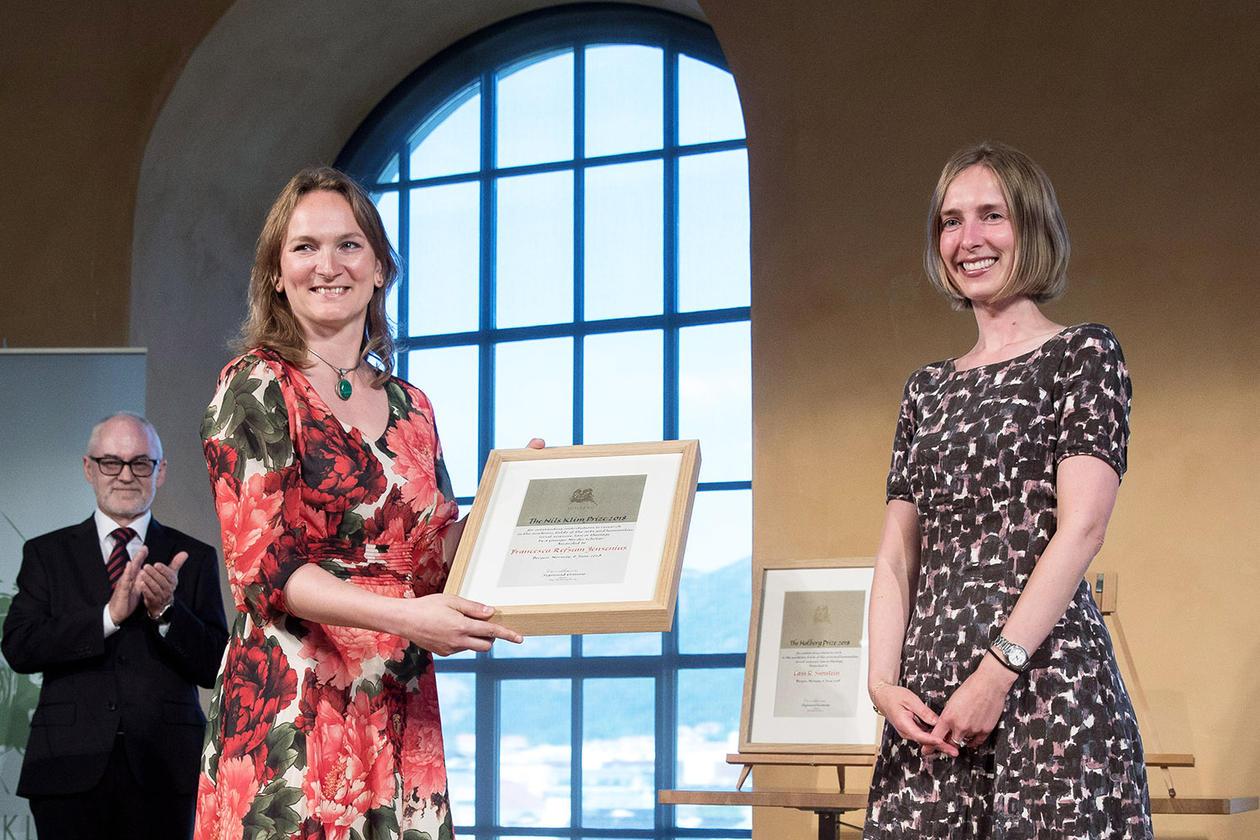 Holbergprisen og Nils Klim-prisen 2018, Francesca R. Jensenius.