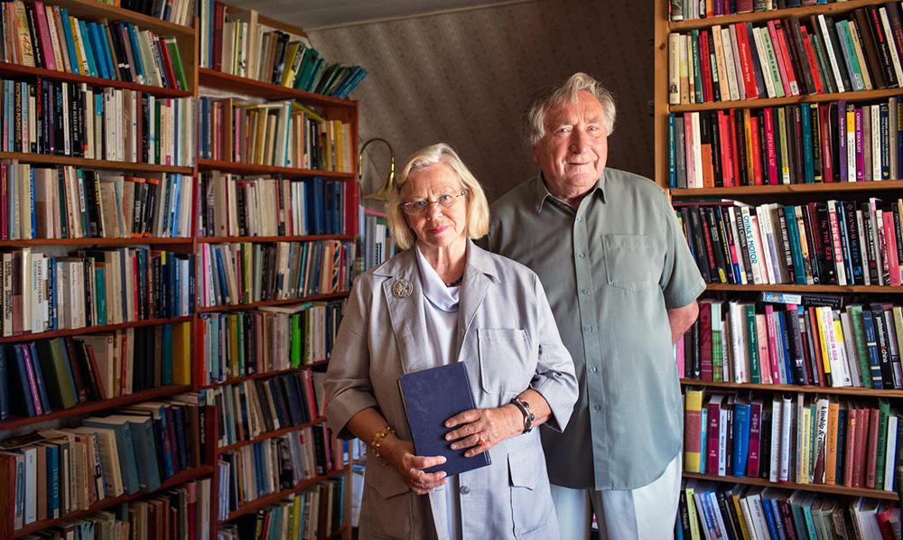 Randi og Gunnar Håland