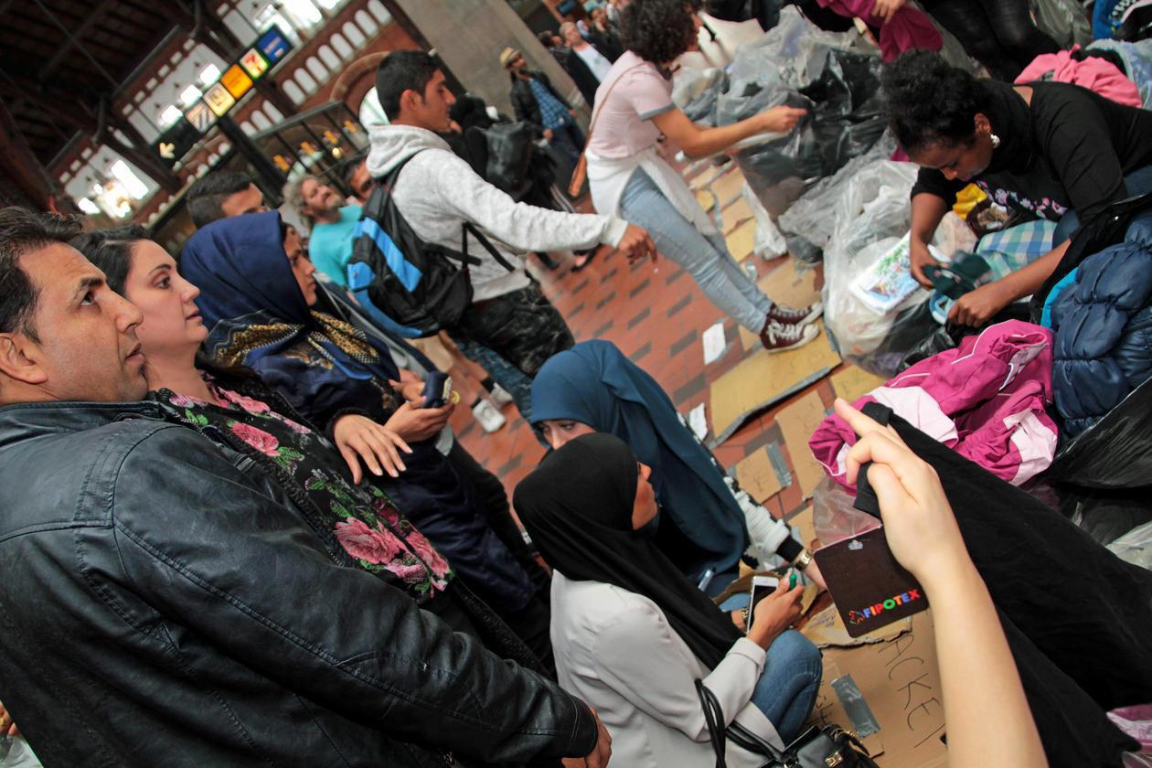 Copenhagen refugees