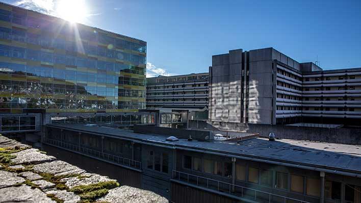 University Hospital Main Campus Map.Campus Map Faculty Of Medicine University Of Bergen