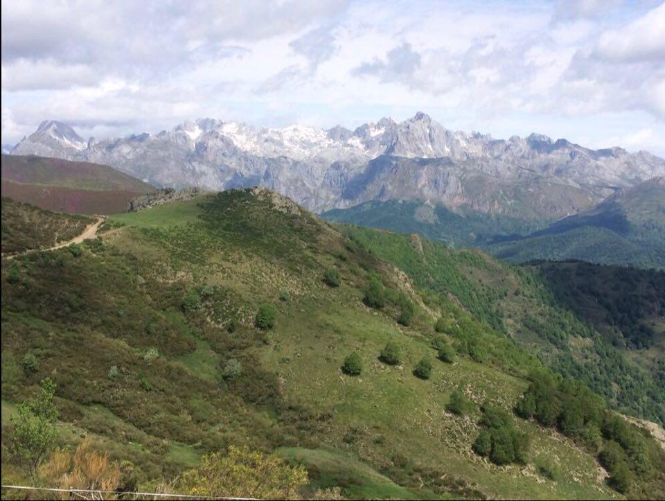 Landscape photo of Picos de Europa Biosphere Reserve in Northern Spain