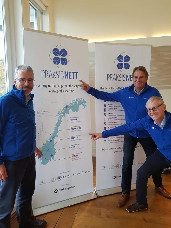 Bildet viser medlemmene i PraksisNetts internasjonale fagråd