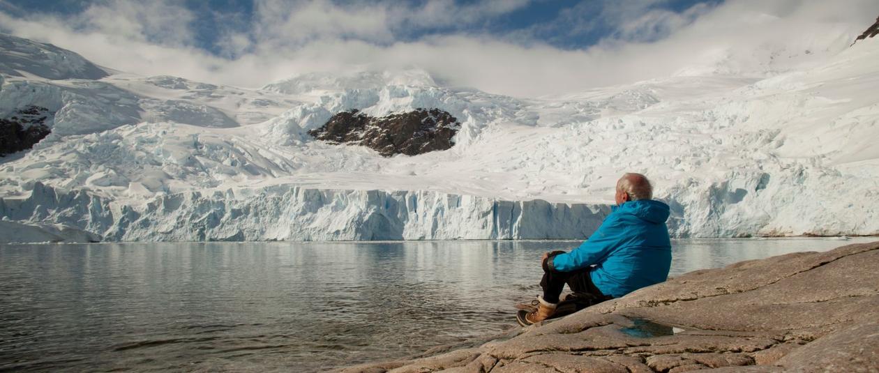 KLIMAPIONERENE: Den franske regissøren Luc Jacquet har laget filmen Ice in the sky om klimaforskningens pionerer.