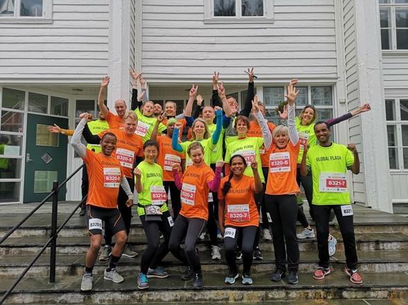 IGS Bergen Marathon teams