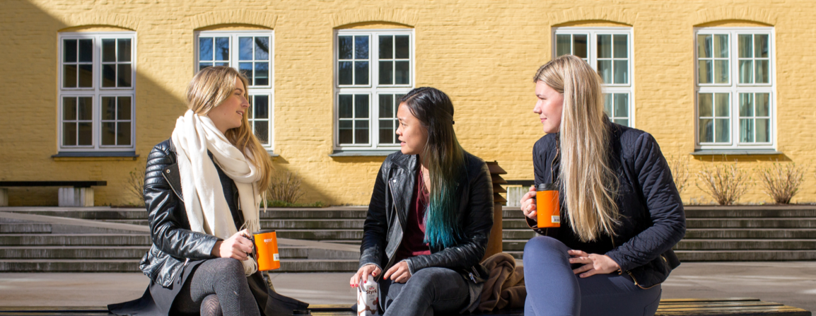 Students at the Faculty of Humanities
