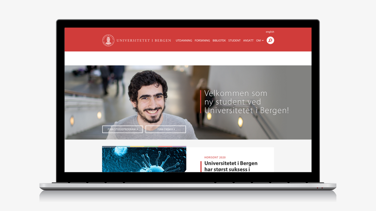 Illustration of the new web pages