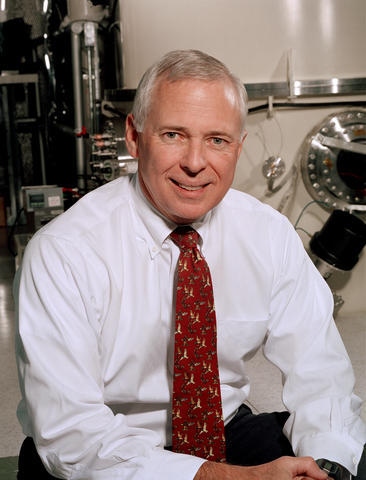 Dr. James L. Burch, vice president of the Space Science and Engineering Division at Southwest Research Institute, San Antonio, Texas, USA