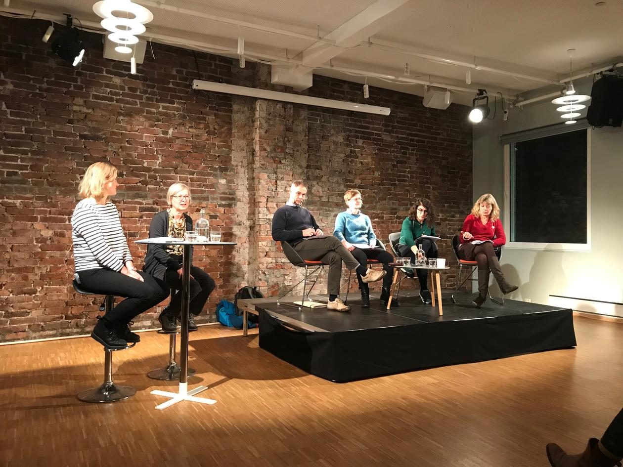 Panel at Litteraturhuset