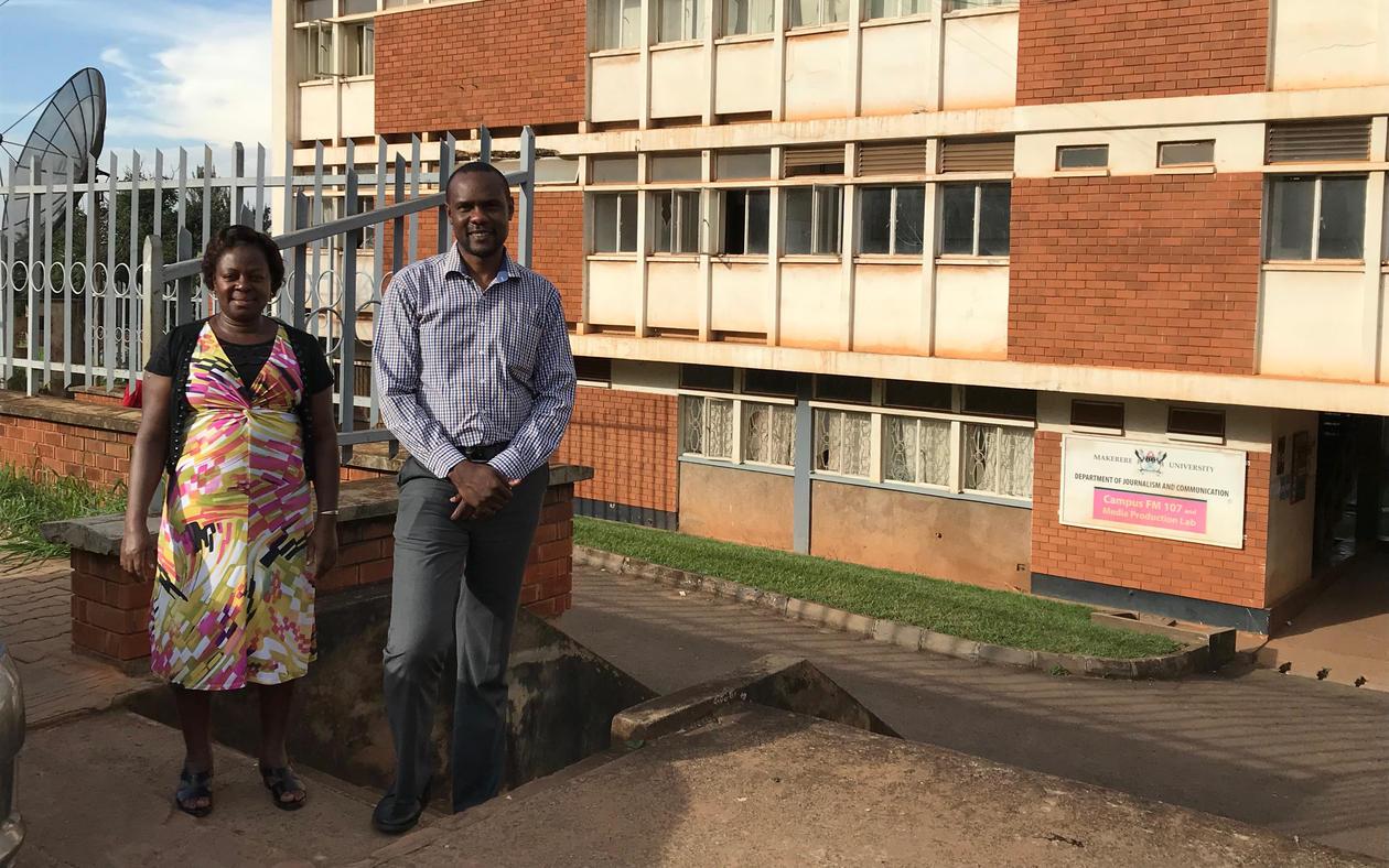 Winnie Ndagire and Ronald Semyalo,