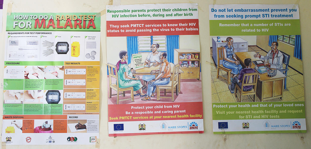 Health Centre information posters 2