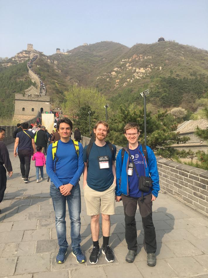 Garbage Collectors på Den kinesiske mur