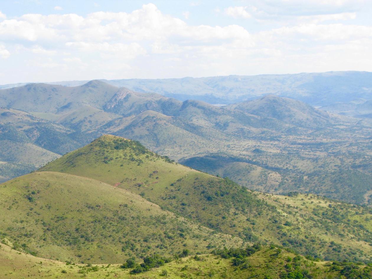 Mountain in Barberton Greenstone Belt, South Africa