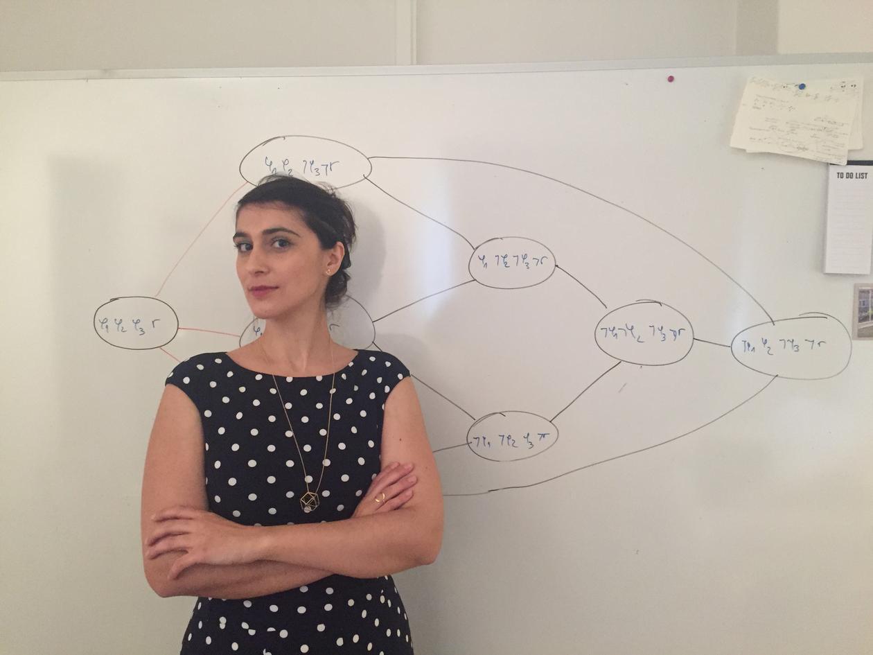 Portrait of Postdoctoral fellow Marija Slavkovik, Department of Information Science and Media Studies, University of Bergen (UiB).