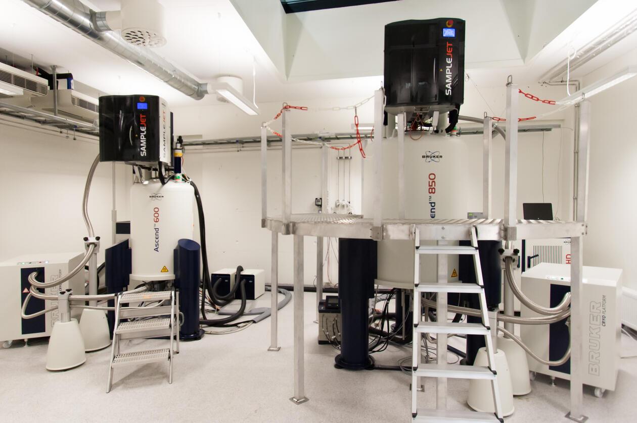 NMR spectrometers at NNP