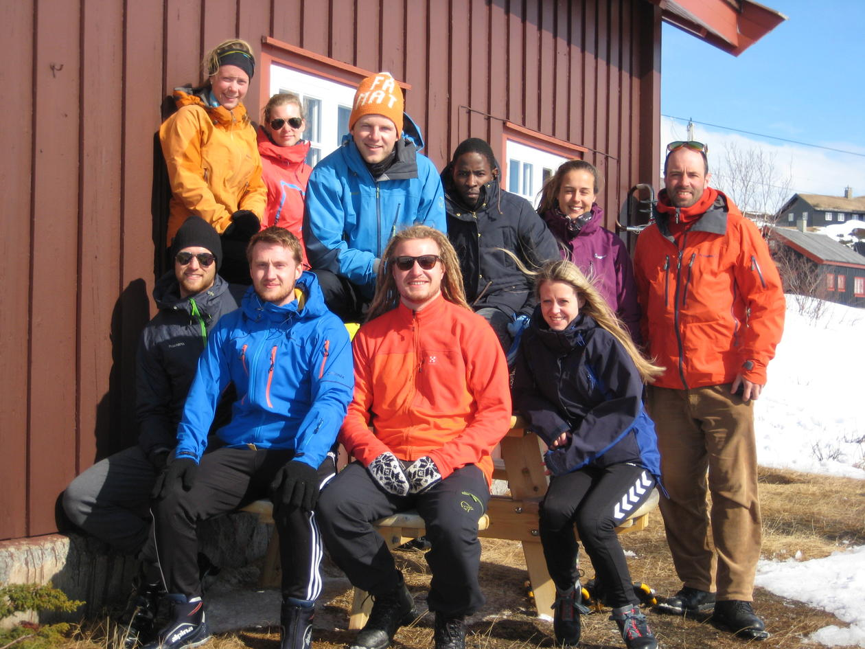 Seminar group of GEOF328 course