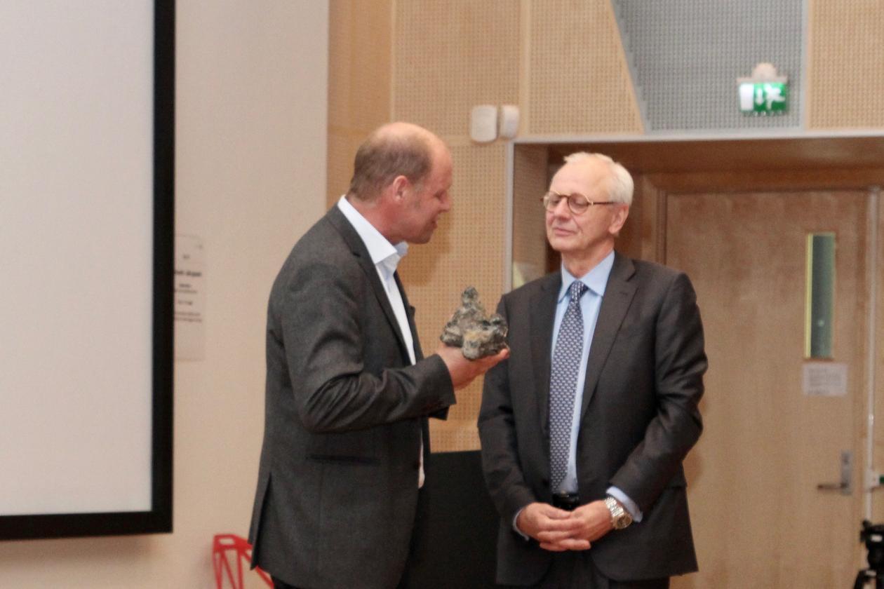 Rolf Birger Pedersen, styreleder Hans Peter Jebsen