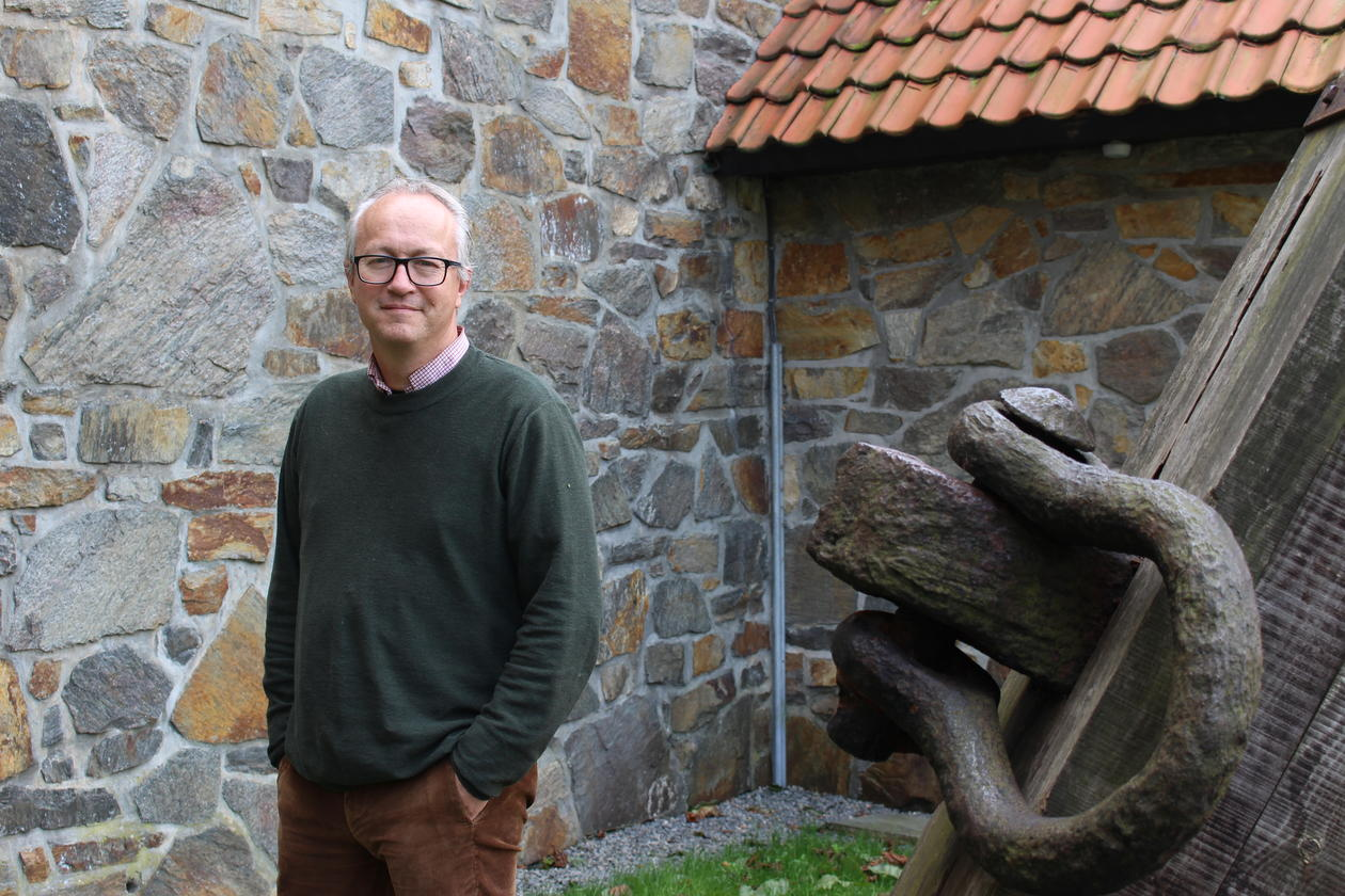 Konservator og arkeolog Bård Gram Økland
