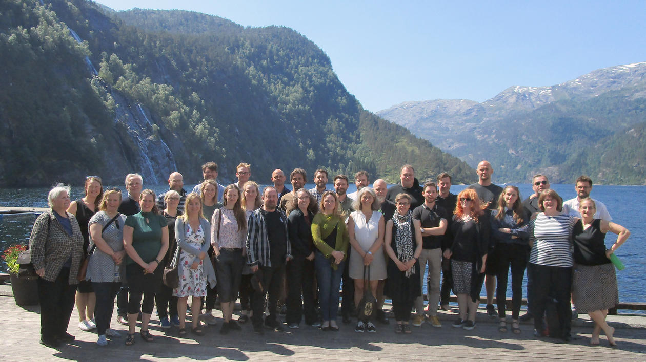 Participants on the Expanding Horizons 2018