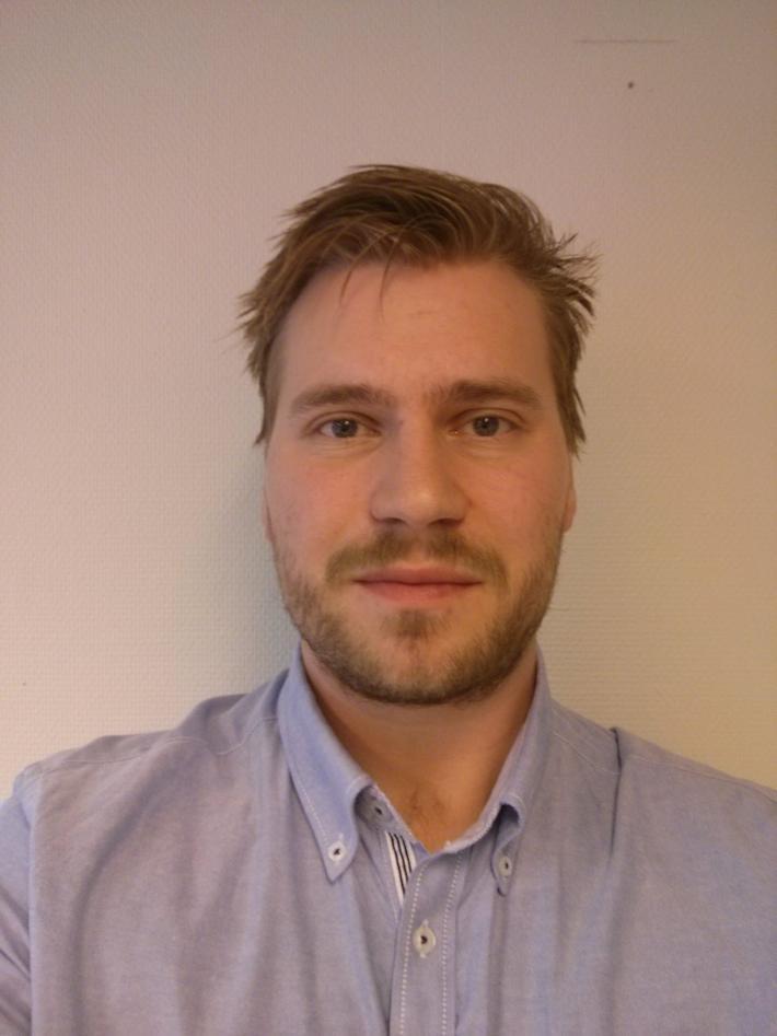 Portrettfoto Lars Petter Øren Hauge