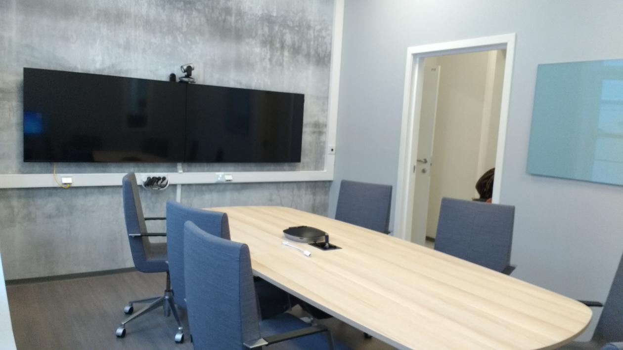 Picture of the project room