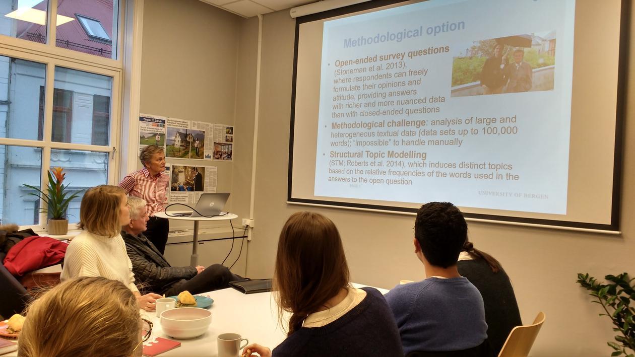 Fløttum presenting