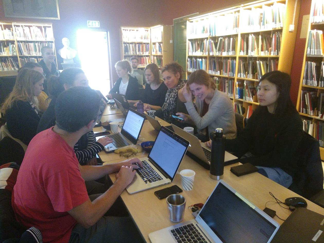 Recap: Wikipedia Editing Workshop | Research Group for