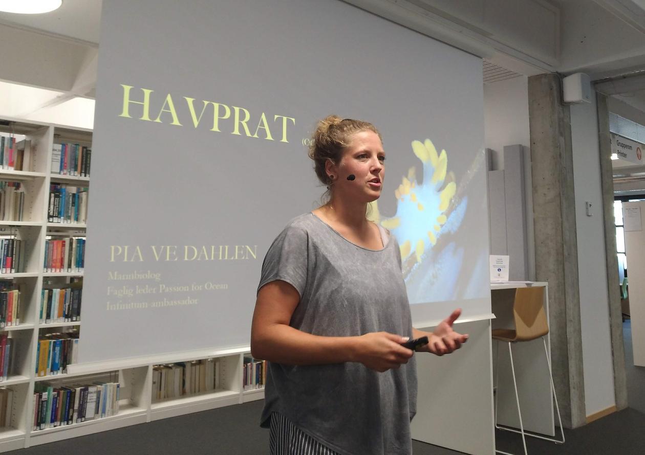 Havprat med Pia Ve Dahlen