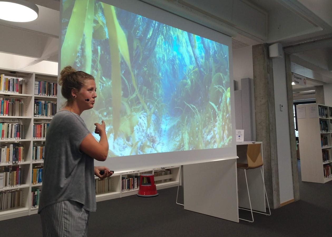 Presentasjon av Pia Ve Dahlen
