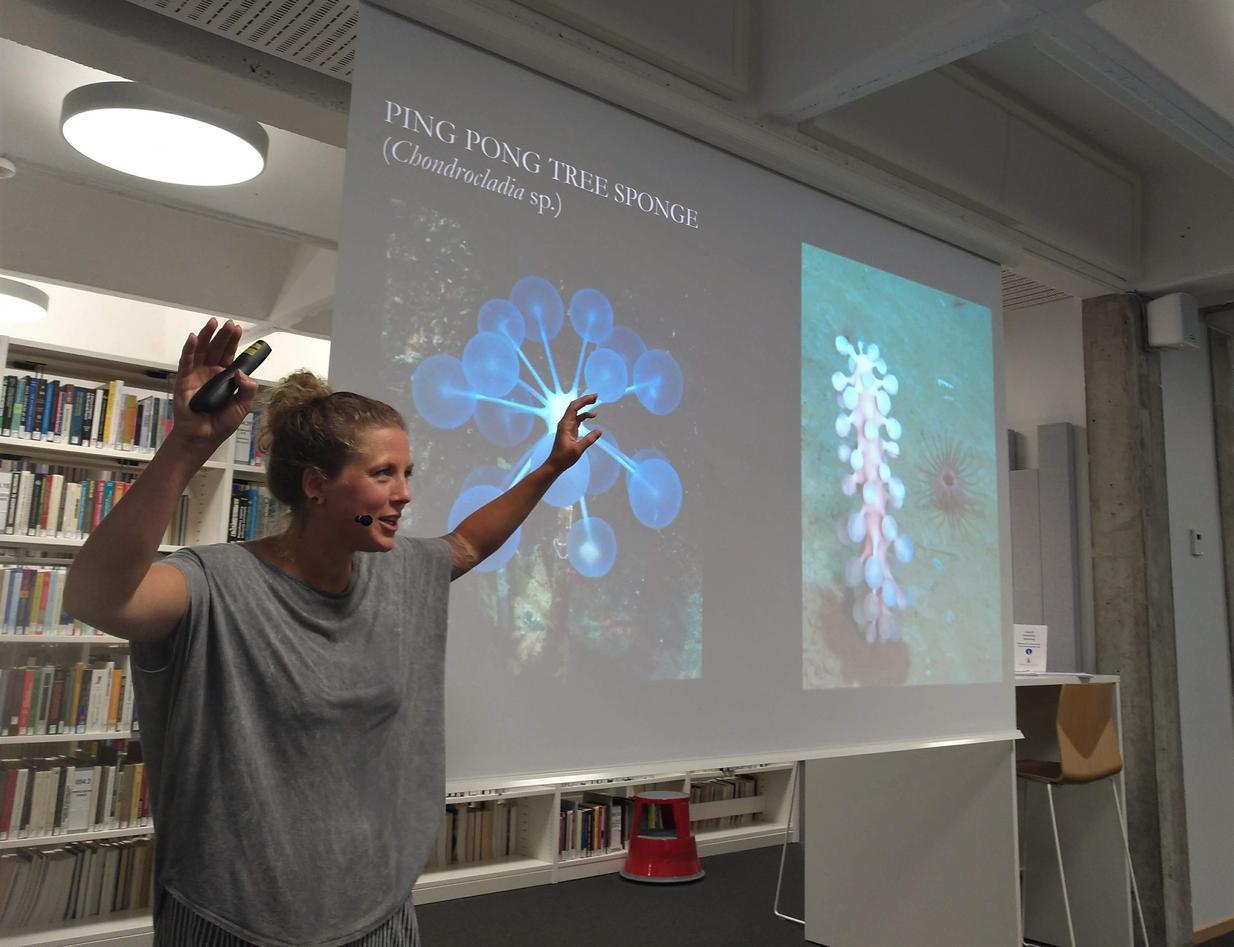 presentation by Pia Ve Dahlen
