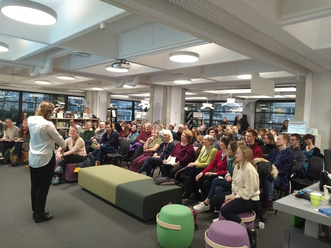 Presentasjon med Janne Grønli