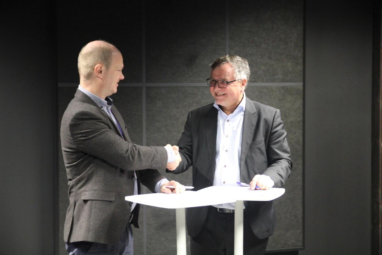Per Aadland og Kjell Bernstrøm