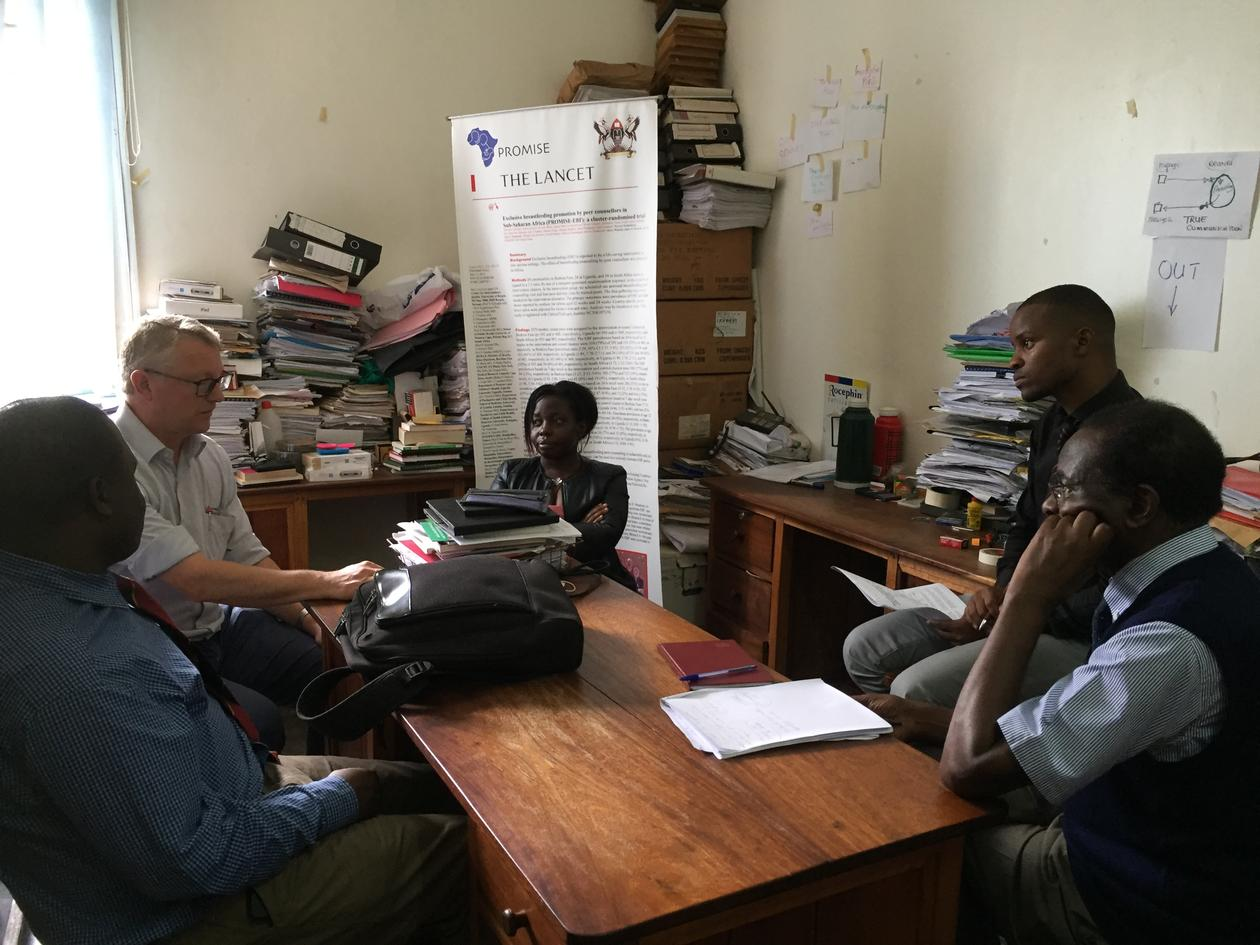 Midway evaluation for phd-candidate at Makerere University