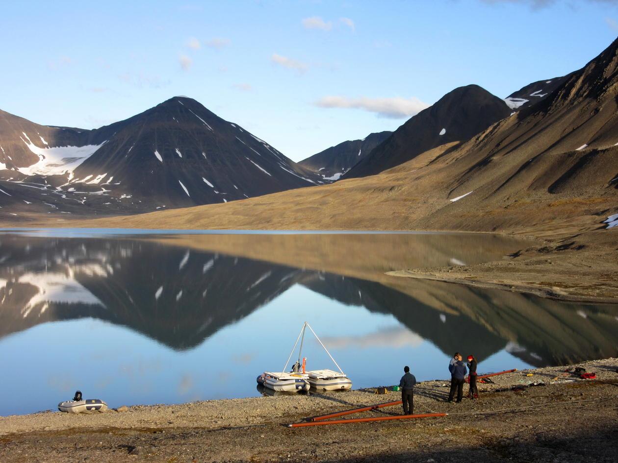 Feltarbeid på Svalbard