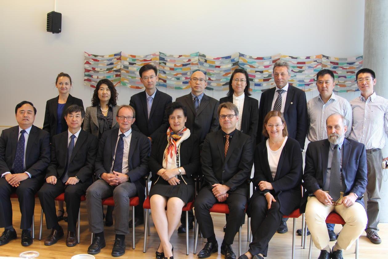 Chinese delegation at UiB