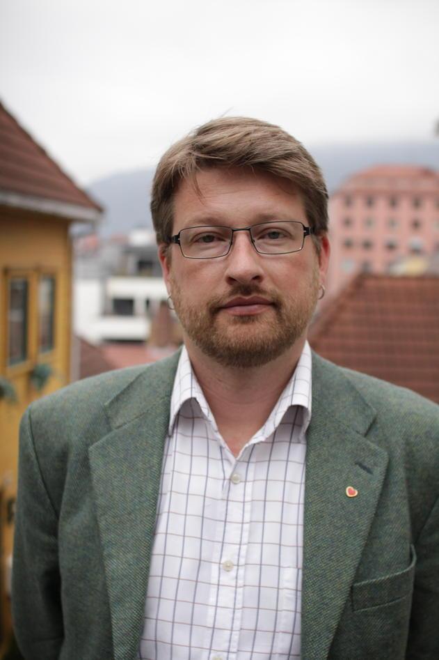 Portrett av Jørn Øyrehagen Sunde