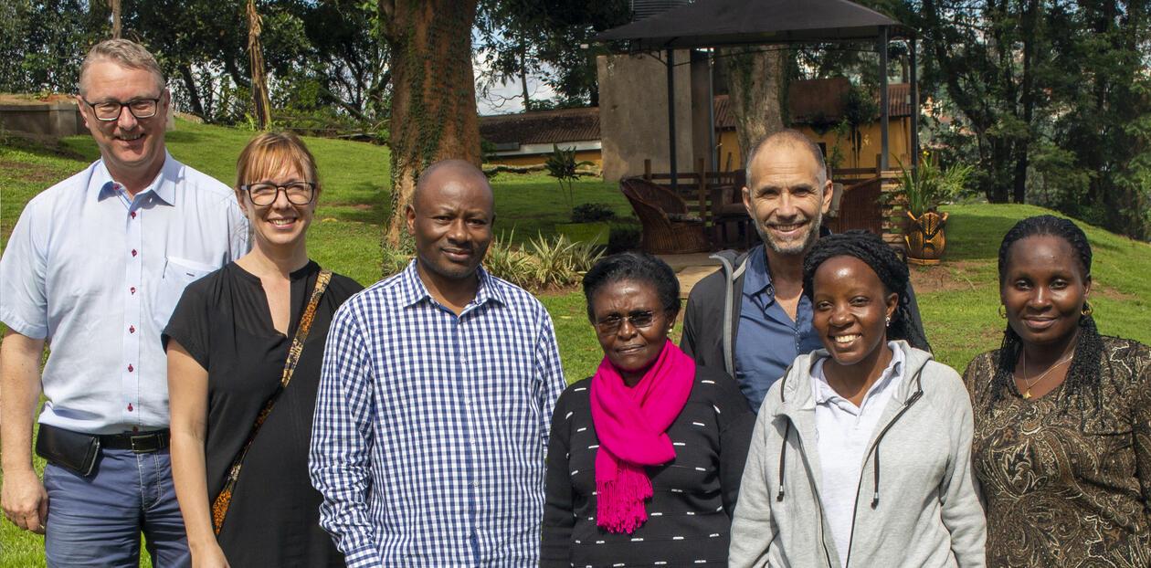 Forskergruppe Uganda