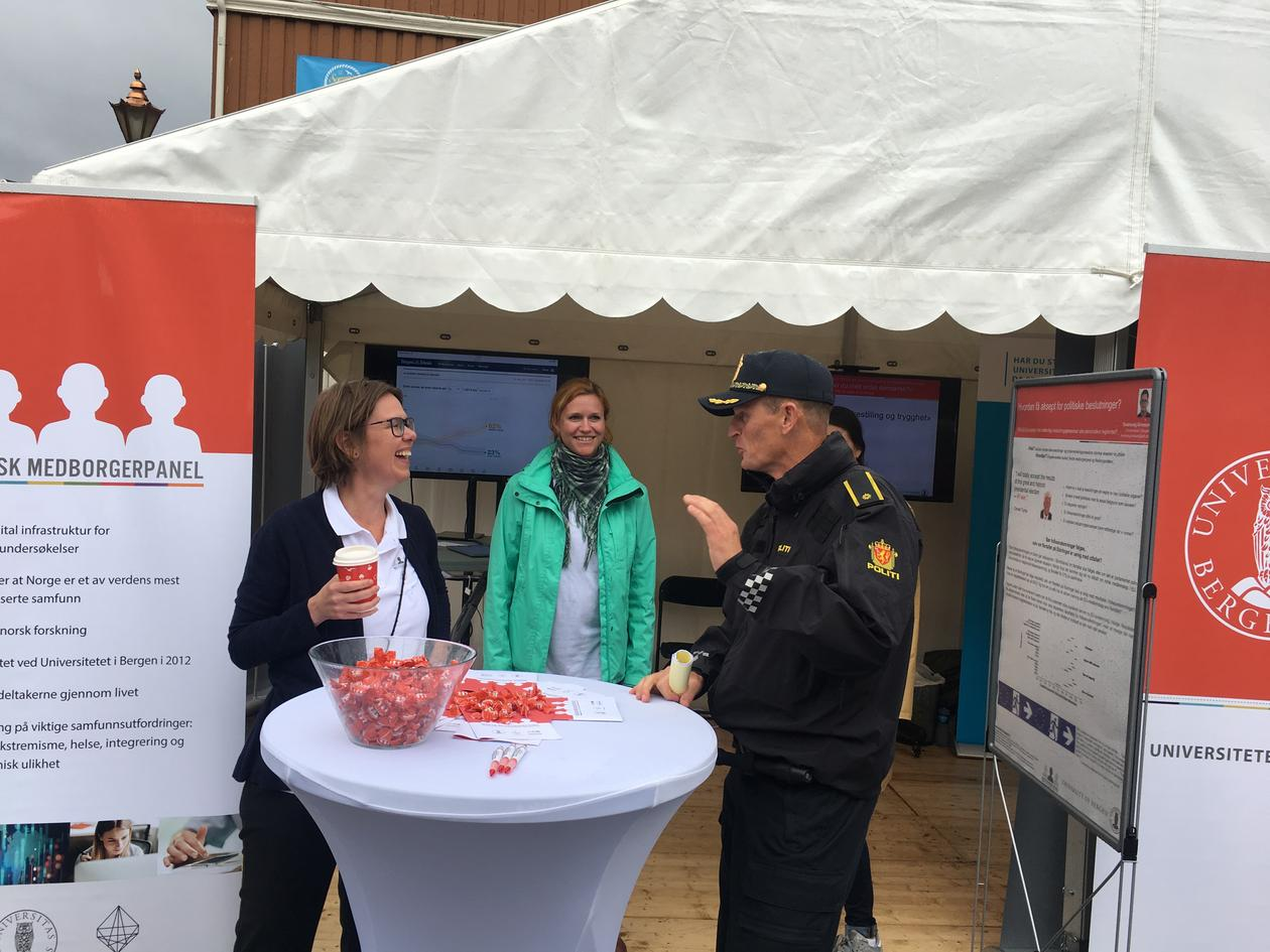Arendalsuka-stand