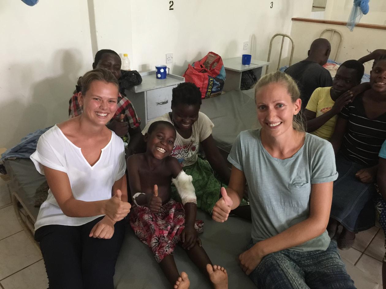 Medical Students in Neno, Malawi