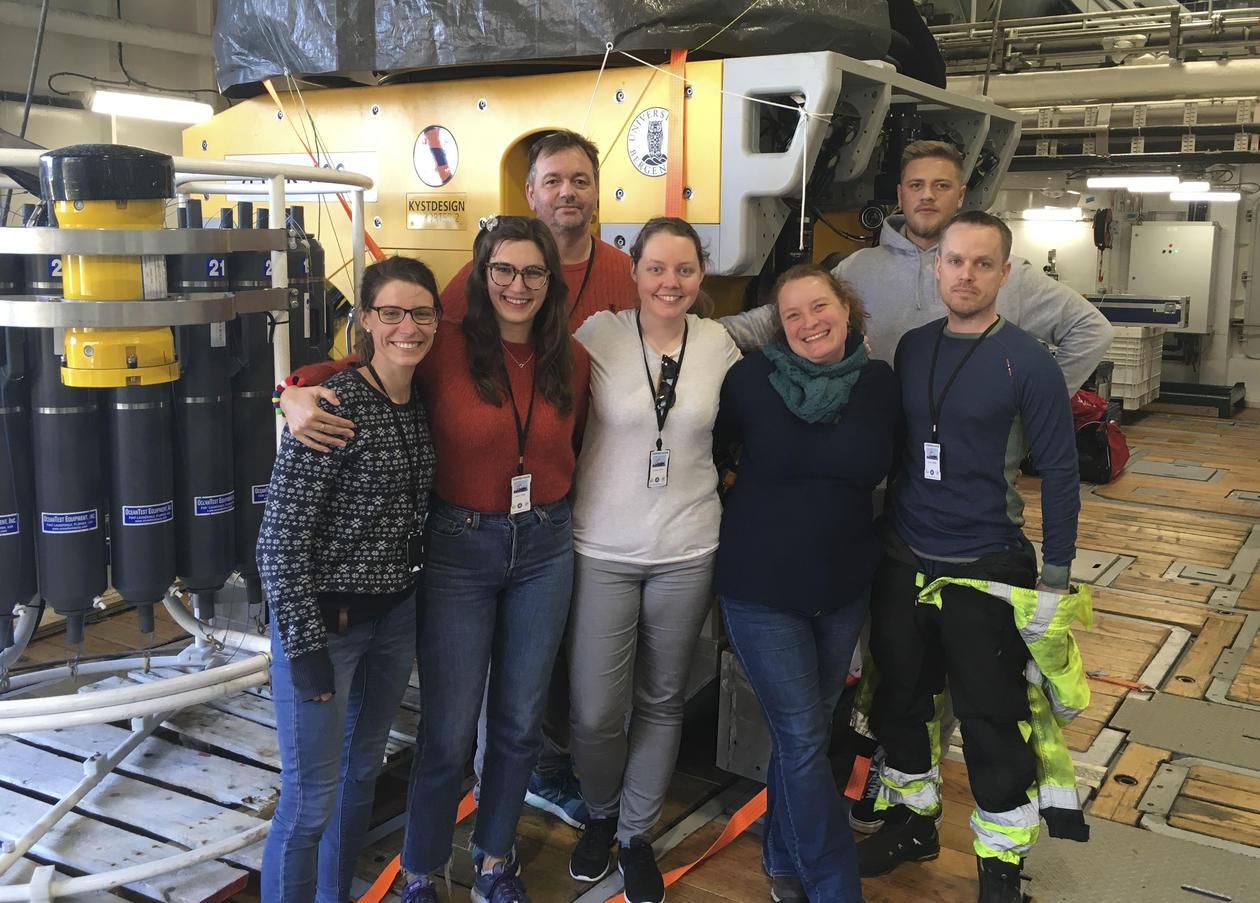 UiB-gjengen på vei til Antarktis