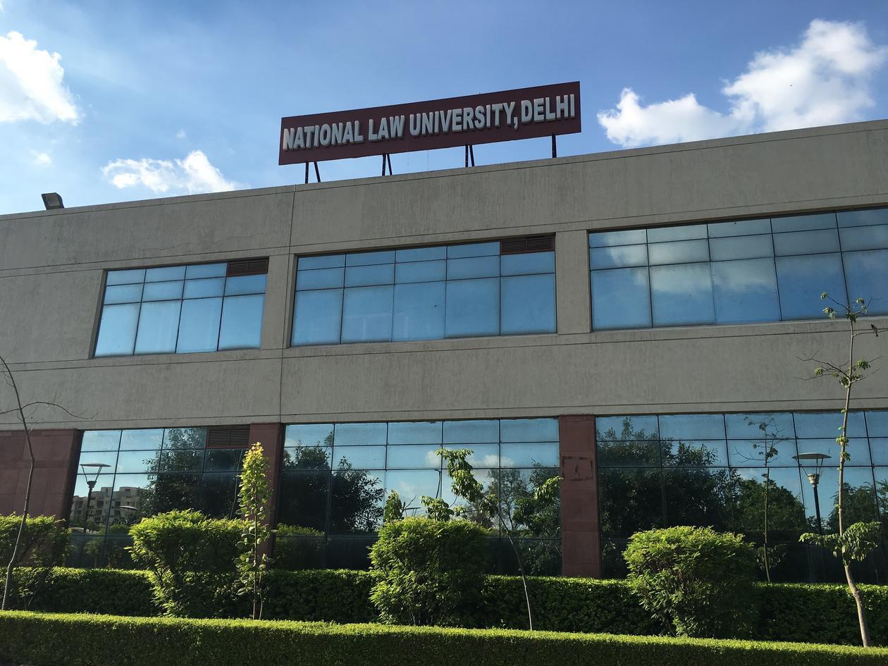 Bygning: National Law University Dehli