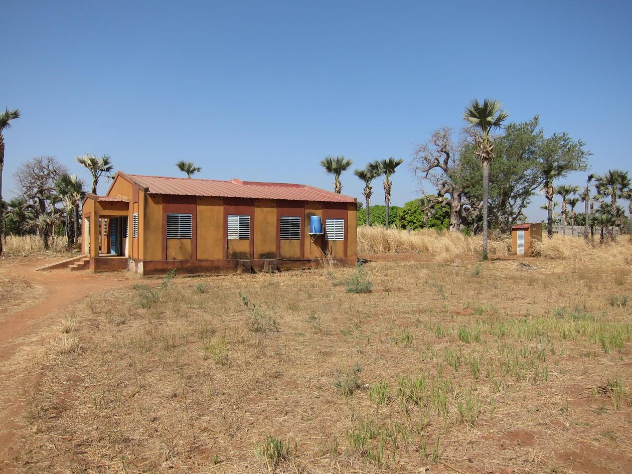 A primary care facility in Burkina Faso
