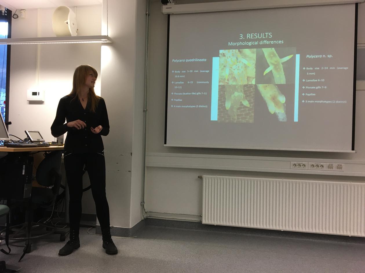 Cecilie Sørensen MSc defence 2