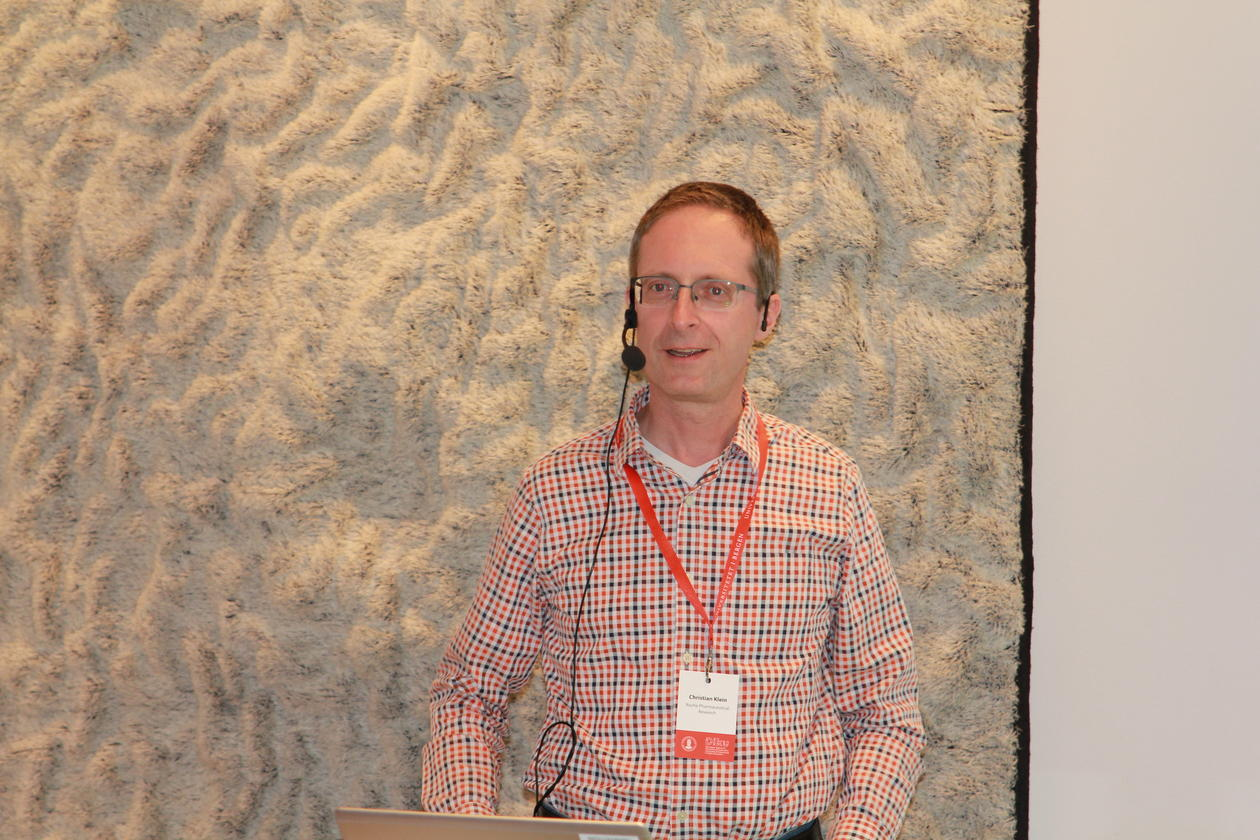 Christian Klein, Roche Pharmaceutical Research, Switzerland
