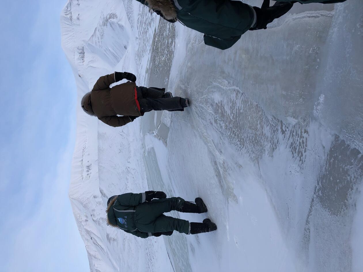 field work in Svalbard