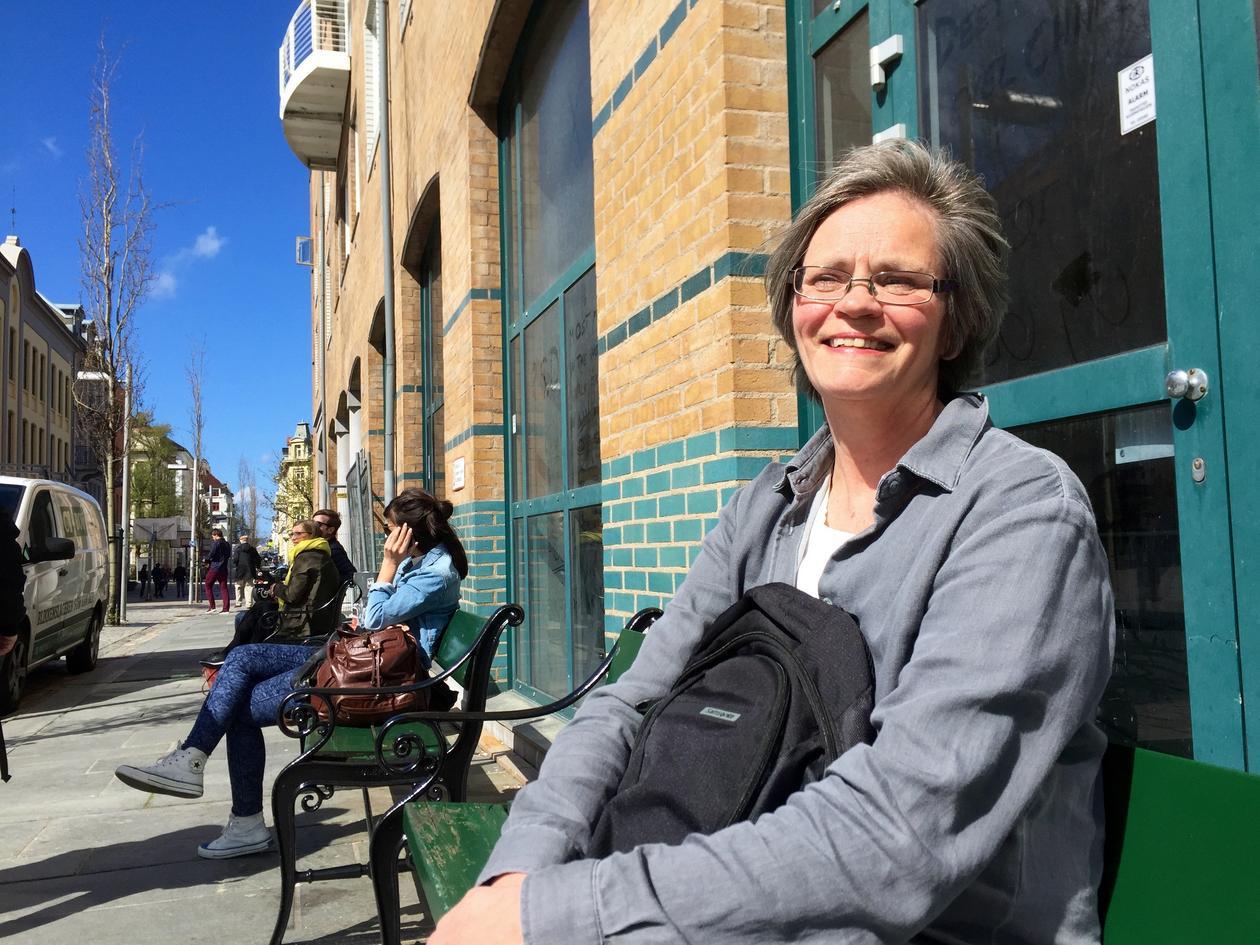 Lise Gundersen i Fosswinckels gate