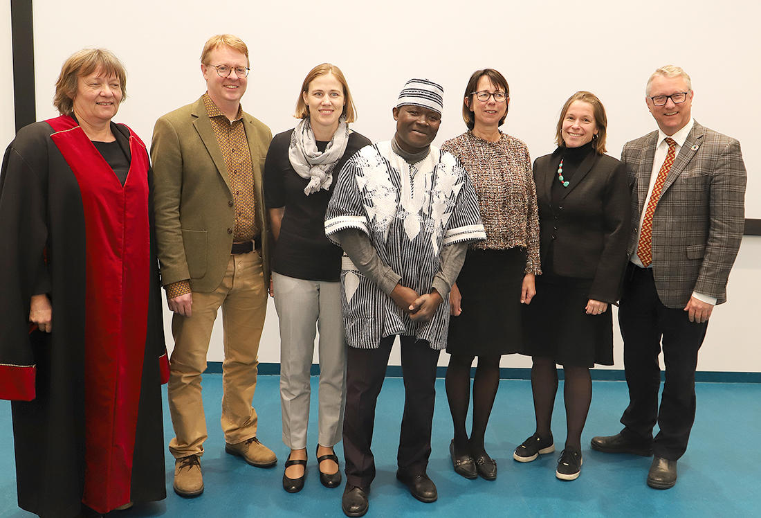 Eric Somé's PhD Committee