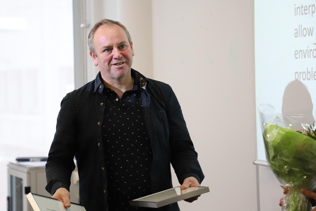 Lars Nyre får prisen