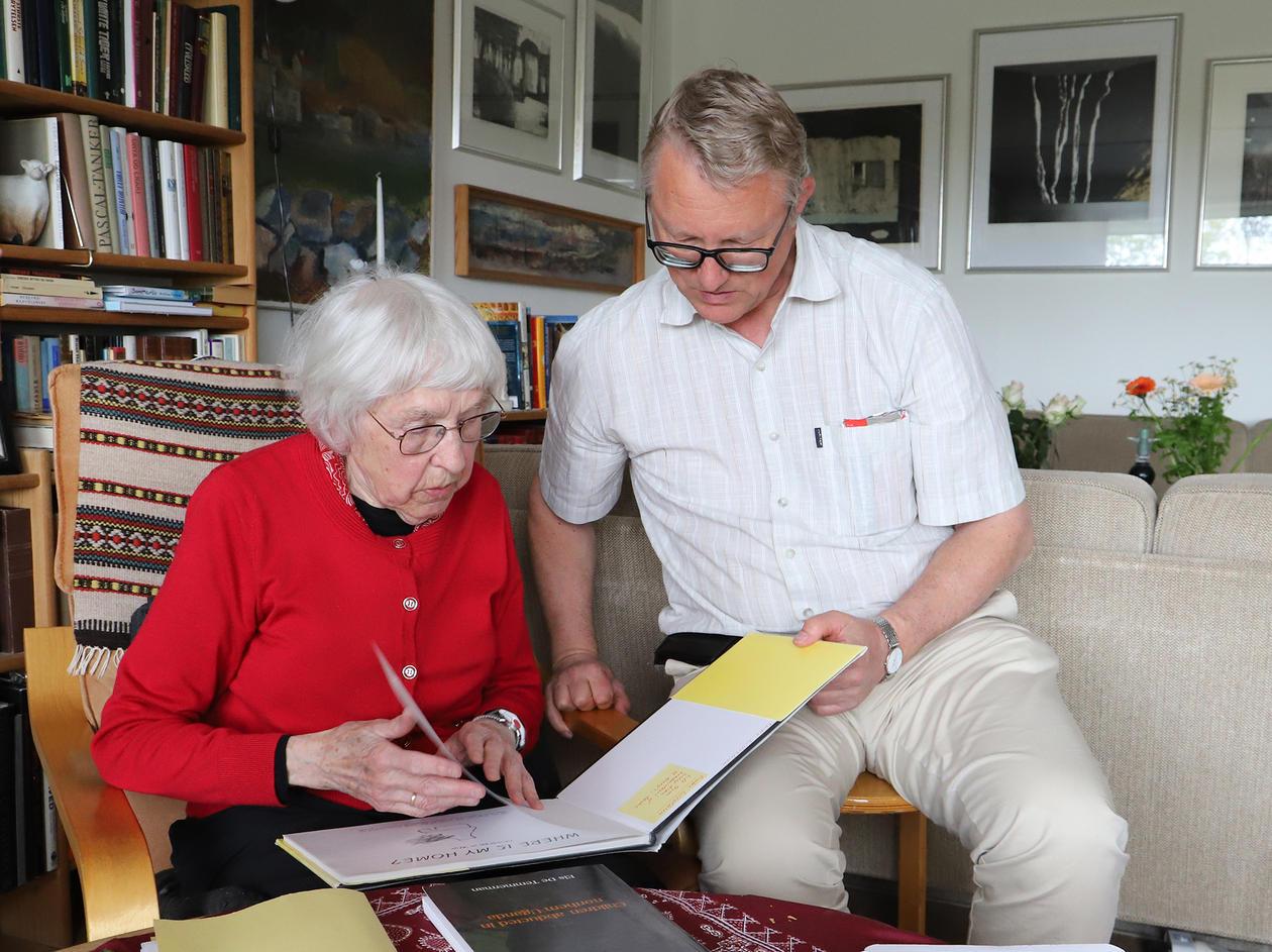 Karen Lillethun and Thorkild Tylleskär