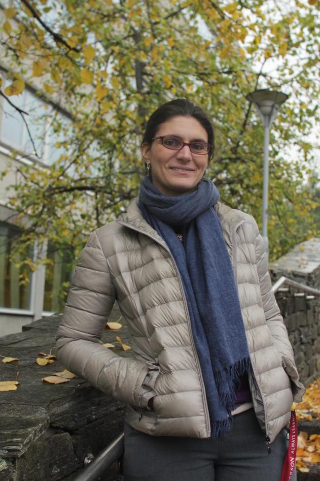 Sofia Tirabassi celebrates one year anniversary with UiB these days.