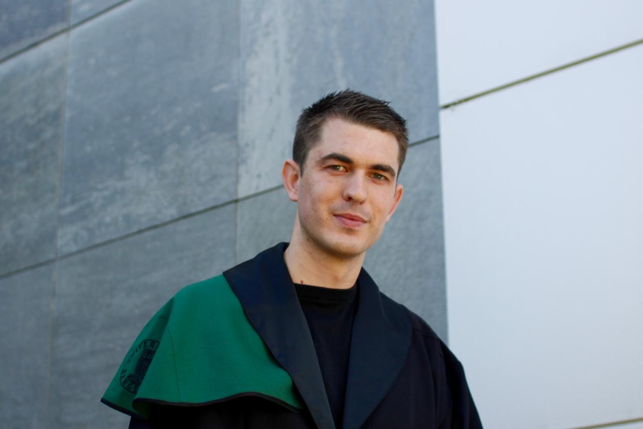 A THIRST FOR KNOWLEDGE: Håkon Otneim felt a need to learn more after finishing his Masters's thesis. A PhD presented him with new challenges.